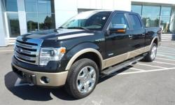 To learn more about the vehicle, please follow this link: http://used-auto-4-sale.com/108734601.html 2013 Ford F-150 Lariat, MP3 Compatible, USB/AUX Inputs, Clean CarFax, and One Owner Vehicle. Equipment Group 502A Luxury (Floor Shifter, Flow Through