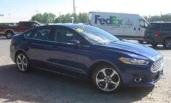 To learn more about the vehicle, please follow this link: http://used-auto-4-sale.com/108762372.html ***CLEAN VEHICLE HISTORY REPORT***, ***ONE OWNER***, and ***PRICE REDUCED***. Fusion SE, 2.5L iVCT, 6-Speed Automatic, and Blue. This 2013 Fusion is for