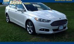 To learn more about the vehicle, please follow this link: http://used-auto-4-sale.com/108681879.html Ford Certified! 2013 Ford Fusion SE in White Platinum Tri-Coat Metallic, Bluetooth for Phone and Audio Streaming, Rearview Camera, Navigation, Power