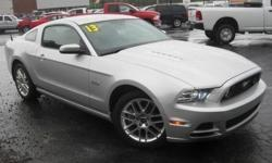 ***CLEAN VEHICLE HISTORY REPORT***, ***ONE OWNER***, ***PRICE REDUCED***, and LEATHER. Mustang GT Premium, 5.0L V8 Ti-VCT 32V, 6-Speed Manual, Gray, and Black Leather. Take your hand off the mouse because this charming 2013 Ford Mustang is the low-mileage