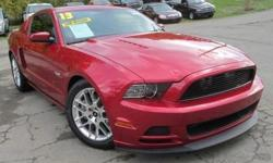 ***CLEAN VEHICLE HISTORY REPORT***, ***ONE OWNER***, and ***PRICE REDUCED***. Mustang GT and Red. How tempting is the low-mileage of this terrific 2013 Ford Mustang? This Mustang's engine never skips a beat. It's nice being able to slip that key into the