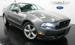 *** 6 SPEED MANUAL***, ***5.0L V8***, ***HEATED LEATHER***, ***LOW LOW MILES***, ***PREMIUM PKG***, ***SIRIUS RADIO***, and ***REAQUIRED VEHICLE***. This 2013 Mustang is for Ford enthusiasts looking far and wide for that perfect car. It has only been