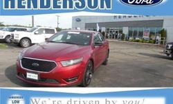 To learn more about the vehicle, please follow this link: http://used-auto-4-sale.com/108450464.html UP TO 100,000 MILES OF FORD CERTIFIED PRE-OWNED WARRANTY COVERAGE, ROADSIDE ASSISTANCE, 2 SETS OF KEYS, and REMOTE START. Taurus SHO, 4D Sedan, EcoBoost