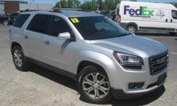 To learn more about the vehicle, please follow this link: http://used-auto-4-sale.com/108762329.html ***CLEAN VEHICLE HISTORY REPORT***, ***ONE OWNER***, and ***PRICE REDUCED***. Acadia SLT-1, 6-Speed Automatic, AWD, Gray, and Leather. Take your hand off