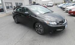 To learn more about the vehicle, please follow this link: http://used-auto-4-sale.com/108680870.html Treat yourself to a test drive in the 2013 Honda Civic! This car refuses to compromise! Honda infused the interior with top shelf amenities, such as: