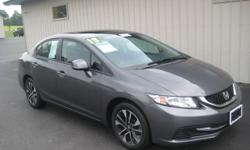 FOR SALE! 2013 Honda Civic EX LOADED! Like New ! 4 Cylinder 1.8 Liter Engine! Great on Gas! Call 315-734-5939 ! Odometer: 36,000 Miles Factory Powertrain Warranty Included! *Premium Honda Alloy Wheels! -Rear View Camera! -Sun Roof! -One Owner - Clean