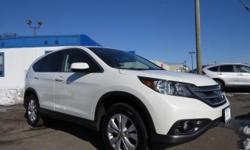 Check out this 2013 Honda CR-V EX. It has an Automatic transmission and a Gas I4 2.4L/144 engine. This CR-V comes equipped with these options: Pwr windows w/driver auto-up/down, Body-colored folding pwr mirrors, Pwr door & tailgate locks, Instrument panel