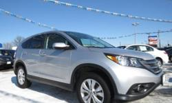 Check out this 2013 Honda CR-V EX. It has an Automatic transmission and a Gas I4 2.4L/144 engine. This CR-V features the following options: Reclining cloth front bucket seats -inc: driver manual height adjustment, adjustable active head restraints,