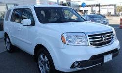 2013 Honda Pilot EX - 8 Pass - Cruise Ctrl - Alloy Wheels - Very Clean - Only 24K Miles 2013 Honda Pilot EX 4dr SUV (3.5L 6cyl) with Taffeta White Exterior, Gray Interior. Loaded with 3.5L V6 MPI Engine, Cloth Seats, 8-Passenger Seating, 3rd Row Seating,