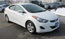 Millennium Hyundai is excited to offer this beautiful CERTIFIED PRE OWNED 2013 HYUNDAI ELANTRA GLS with 38,198 miles. Top features include 2012 NORTH AMERICAN CAR OF THE YEAR, XM RADIO, 32MPH AVERAGE, KEYLESS REMOTE ENTRY with ACTIVE ALARM and much more.