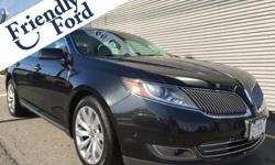 AWD and Tuxedo Black Metallic. Loaded! Fully tricked out. Friendly Prices, Friendly Service, Friendly Ford! brbrIf you're looking for an used vehicle in great condition, look no further than this 2013 Lincoln MKS. You won't need to get out your tools for