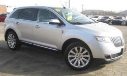 ***CLEAN VEHICLE HISTORY REPORT***, ***ONE OWNER***, ***PRICE REDUCED***, ***CERTIFIED PRE-OWNED LINCOLN***, and LEATHER, SUNROOF, NAVIGATION, BLIND SPOT WARNING SYSTEM AND CHROME WHEELS. AWD, Gray, ABS brakes, AM/FM radio: SIRIUS, Compass, Electronic