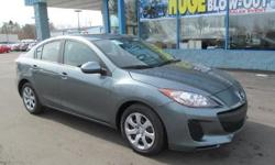 The 2013 Mazda 3 offers precise handling, well-equipped interior, and the Skyactiv 2.0-liter engine's delivers exceptional fuel economy. * Engine: 2.0 L Inline 4-cylinder - Drivetrain: Front Wheel Drive - Transmission: 5-speed Automatic - Horse Power: 148
