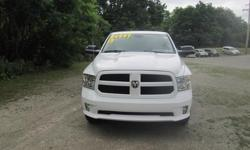 To learn more about the vehicle, please follow this link: http://used-auto-4-sale.com/108762259.html ***CLEAN VEHICLE HISTORY REPORT***, ***ONE OWNER***, and ***PRICE REDUCED***. Ram 1500 Express Quad Cab, HEMI 5.7L V8 Multi Displacement VVT, 6-Speed