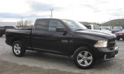 To learn more about the vehicle, please follow this link: http://used-auto-4-sale.com/108762260.html ***CLEAN VEHICLE HISTORY REPORT***, ***ONE OWNER***, and ***PRICE REDUCED***. Ram 1500 Express Quad Cab, HEMI 5.7L V8 Multi Displacement VVT, 6-Speed