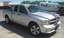 To learn more about the vehicle, please follow this link: http://used-auto-4-sale.com/108762258.html ***CLEAN VEHICLE HISTORY REPORT***, ***ONE OWNER***, and ***PRICE REDUCED***. Ram 1500 Express Quad Cab, HEMI 5.7L V8 Multi Displacement VVT, 6-Speed