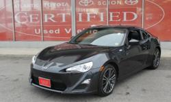 2013 Scion FR-S 2 door Cpe with 147,283 miles**4 Cylinder**Rear Wheel Drive**Automatic**Alloy Wheels**Bluetooth**Power Windows**Air Conditioning**Power Door locks**Remote Keyless Entry**Rear Window Defogger**Cruise Control**Auto Check shows NO ACCIDENTS