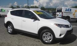 To learn more about the vehicle, please follow this link: http://used-auto-4-sale.com/108762405.html ***CLEAN VEHICLE HISTORY REPORT***, ***ONE OWNER***, and ***PRICE REDUCED***. RAV4 LE, 2.5L 4-Cylinder DOHC Dual VVT-i, 6-Speed Automatic, AWD, White,