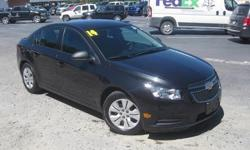 To learn more about the vehicle, please follow this link: http://used-auto-4-sale.com/108762309.html ***ONE OWNER*** and ***PRICE REDUCED***. Cruze LS, ECOTEC 1.8L I4 SMPI DOHC VVT, 6-Speed Automatic Electronic with Overdrive, and Black. You Win!
