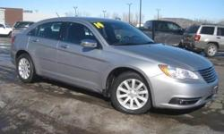 ***CLEAN VEHICLE HISTORY REPORT***, ***ONE OWNER***, and ***PRICE REDUCED***. 200 Limited and Gray. Oh yeah! Yes! Yes! Yes! Creampuff! This attractive 2014 Chrysler 200 is not going to disappoint. There you have it, short and sweet! This spirited machine