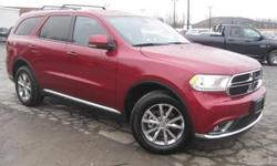 ***CLEAN VEHICLE HISTORY REPORT***, ***ONE OWNER***, ***PRICE REDUCED***, NAVIGATION, and POWER TAIL GATE. Durango Limited, AWD, Red, and Leather. Here at Ferrario Auto Team, we try to make the purchase process as easy and hassle free as possible. We