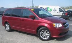To learn more about the vehicle, please follow this link: http://used-auto-4-sale.com/108762344.html ***CLEAN VEHICLE HISTORY REPORT*** and ***PRICE REDUCED***. Grand Caravan SXT, 3.6L V6 24V VVT, 6-Speed Automatic, and Red. Yeah baby! Yes! Yes! Yes! Set