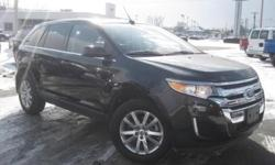 ***CLEAN VEHICLE HISTORY REPORT***, ***ONE OWNER***, and ***PRICE REDUCED***. Edge Limited, AWD, and Black. Oh yeah! You Win! Stop clicking the mouse because this 2014 Ford Edge is the SUV you've been trying to find. What a perfect match! This terrific