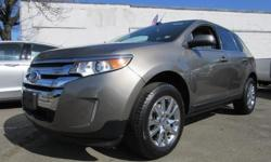 Be smooth and stealth! This 2014 Ford Edge will give you an edge on the open road! It has All Wheel Drive is spacious and low miles. Comes in Mineral Gray Metallic exterior with smooth light stone leather seating. Price(s) include(s) all costs to be paid