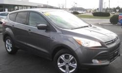 ***CLEAN VEHICLE HISTORY REPORT***, ***ONE OWNER***, and ***PRICE REDUCED***. EcoBoost 1.6L I4 DGI DOHC Turbocharged VCT, AWD, and Gray. Are you still driving around that old thing? Come on down today and get into this attractive 2014 Ford Escape! Motor