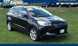 To learn more about the vehicle, please follow this link: http://used-auto-4-sale.com/108681869.html Ford Certified! All Wheel Drive 2014 Ford Escape Titanium in Tuxedo Black, Bluetooth for Phone and Audio Streaming, Power Panorama Roof, Navigation,