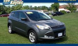 To learn more about the vehicle, please follow this link: http://used-auto-4-sale.com/108681862.html Ford Certified! 2014 Ford Escape SE in Sterling Gray Metallic, Bluetooth for Phone and Audio Streaming, 32 Miles Per Gallon, AM/FM CD/MP3 Player with