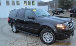 ***CLEAN VEHICLE HISTORY REPORT***, ***ONE OWNER***, and ***PRICE REDUCED***. Expedition Limited, 4WD, Black, and Leather. Creampuff! This charming 2014 Ford Expedition is not going to disappoint. There you have it, short and sweet! Ford has established