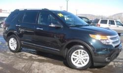 ***CLEAN VEHICLE HISTORY REPORT***, ***ONE OWNER***, ***PRICE REDUCED***, and LEATHER. Explorer XLT, 3.5L V6, AWD, and Black. Greenhouse visibility. Creampuff! This beautiful 2014 Ford Explorer is not going to disappoint. There you have it, short and
