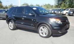 One test drive in this gently used 2014 Explorer Limited 4x4 and you'll know you've found your perfect match! Check out our awesome pictures one more time and imagine how good you're going to look and feel behind the wheel! This four wheel drive beauty is