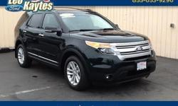 To learn more about the vehicle, please follow this link: http://used-auto-4-sale.com/108452106.html Ford Certified! 2014 Ford Explorer XLT in Dark Side Metallic, Bluetooth for Phone and Audio Streaming, Rearview Camera, Navigation, Heated Leather Seats,