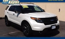 To learn more about the vehicle, please follow this link: http://used-auto-4-sale.com/108613327.html Ford Certified! 2014 Ford Explorer Sport in White Platinum Metallic Tri-Coat, Navigation/GPS, Bluetooth for Phone and Audio Streaming, Rearview Camera,