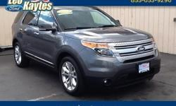 To learn more about the vehicle, please follow this link: http://used-auto-4-sale.com/108613323.html 2014 Ford Explorer XLT in Sterling Gray Metallic, Bluetooth for Phone and Audio Streaming, Rearview Camera, Navigation, Dual Panel Moonroof, Heated