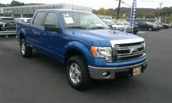Come see this 2014 Ford F-150 . This F-150 comes equipped with these options: Glove box, Airbag Occupancy Sensor, Full-Size Spare Tire Stored Underbody w/Crankdown, Steel Spare Wheel, Cargo lamp integrated w/high mount stop light, Black Side Windows Trim