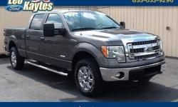 To learn more about the vehicle, please follow this link: http://used-auto-4-sale.com/108385961.html Ford Certified! 2014 Ford F-150 XLT in Sterling Gray Metallic, Bluetooth for Phone and Audio Streaming, Rearview Camera and Ecoboost V6 Engine. SYNC Hands