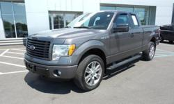 To learn more about the vehicle, please follow this link: http://used-auto-4-sale.com/108303649.html 2014 Ford F-150 STX, MP3 Compatible, USB/AUX Inputs, Clean CarFax, One Owner Vehicle, and Low Miles!. Illuminated entry, Radio: AM/FM Stereo/Single-CD