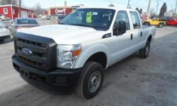 ***CLEAN VEHICLE HISTORY REPORT***, ***ONE OWNER***, and ***PRICE REDUCED***. 4D Crew Cab, TorqShift 6-Speed Automatic, 4WD, and White. Want to stretch your purchasing power? Well take a look at this hard-working 2014 Ford F-250SD. This great Ford is one