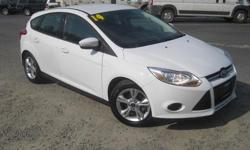 To learn more about the vehicle, please follow this link: http://used-auto-4-sale.com/108762292.html ***CLEAN VEHICLE HISTORY REPORT***, ***ONE OWNER***, and ***PRICE REDUCED***. Focus SE, 2.0L 4-Cylinder DGI DOHC, 5-Speed Manual, and White. Put down the
