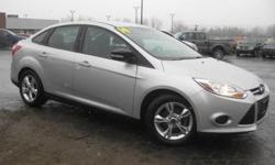 ***CLEAN VEHICLE HISTORY REPORT***, ***ONE OWNER***, and ***PRICE REDUCED***. Focus SE, 4 cyl 2.0L DGI DOHC, and Gray. You Win! Look! Look! Look! This handsome 2014 Ford Focus is the gas-saving vehicle you've been hunting for. Suspension system