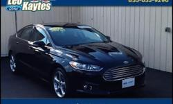 Ford Certified and 6-Speed Automatic. Car buying made easy! It's time for Leo Kaytes Ford! Put down the mouse because this 2014 Ford Fusion is the car you've been searching for. Ford Certified Pre-Owned means you not only get the reassurance of a