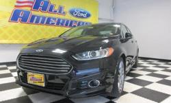 To learn more about the vehicle, please follow this link: http://used-auto-4-sale.com/108304921.html Carfax One Owner - Carfax Guarantee, This 2014 Ford Fusion Titanium will sell fast Backup Camera, Bluetooth, Leather Seats, Auto Climate Control,