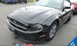 Calling all enthusiasts for this stunning and dynamic certified 2014 Ford Mustang V6 Premium. Savor buttery smooth shifting from the Automatic transmission paired with this high output Regular Unleaded V-6 3.7 L/228 engine. Boasting an astounding amount
