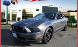 **ONE OWNER** *RARE FIND** **LOCAL TRADE** **NON SMOKER** and **FORD CERTIFIED**. Pony Power! Detroit Muscle! brbrDon't pay too much for the superb-looking convertible you want...Come on down and take a look at this good-looking 2014 Ford Mustang. It is