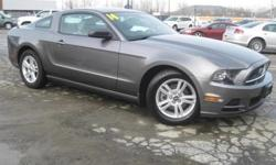 ***CLEAN VEHICLE HISTORY REPORT***, ***ONE OWNER***, and ***PRICE REDUCED***. 3.7L V6 Ti-VCT 24V and Gray. The car you've always wanted! Move quickly! Creampuff! This stunning 2014 Ford Mustang is not going to disappoint. There you have it, short and