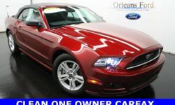 ***LOW MILES***, ***CLEAN ONE OWNER CARFAX***, ***TECH PACKAGE***, ***SYNC PACKAGE***, ***POWER SEAT***, and ***BEST PRICE***. American Icon! When's the best time to buy a convertible? When summer is gone and dealers are looking to give them away! Like