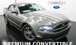 ***PREMIUM PACKAGE***, ***CLEAN ONE OWNER CARFAX***, ***COMFORT PACKAGE***, ***HEATED SEATS***, ***LEATHER***, ***AUTOMATIC***, and ***SPORT APPEARANCE PKG***. This 2014 Mustang is for Ford fanatics looking all around for a great one-owner gem. This